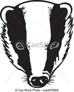 Honey Badger clipart hunny