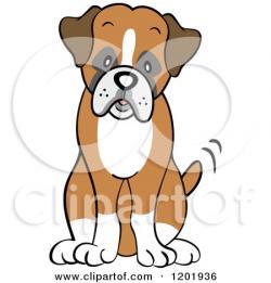 Perro clipart dog sitting