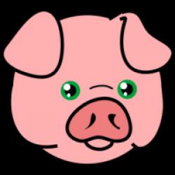 Pork clipart pig head