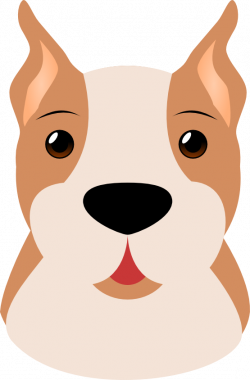 Whiskers clipart dog nose