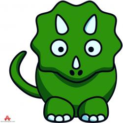 Triceratops clipart cartoon
