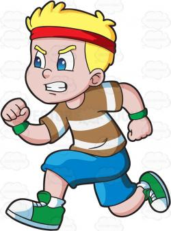 Race clipart child athletics
