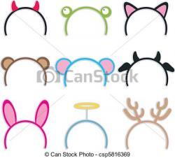 Headband clipart hairband