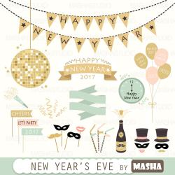 Headband clipart new year