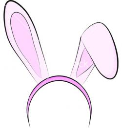 Headband clipart rabbit ear