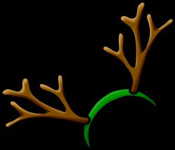 Horns clipart reindeer antler