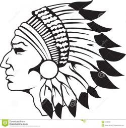 Aboriginal clipart native american headdress