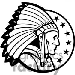 Headdress clipart african chief