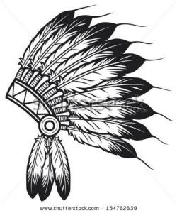 Headdress clipart amerindian