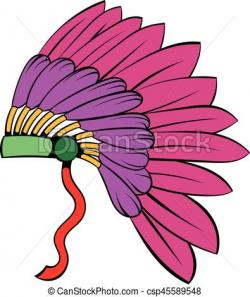 Headdress clipart cartoon