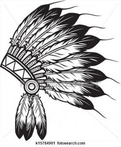 Headdress clipart chieftain