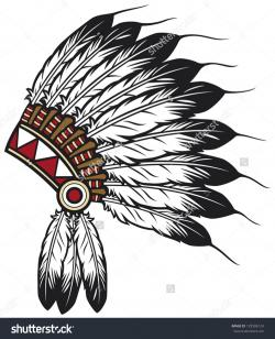 Headdress clipart first nation person