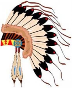 Aborigines clipart native american headdress