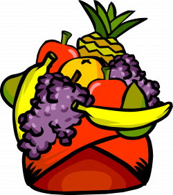 Headdress clipart fruit