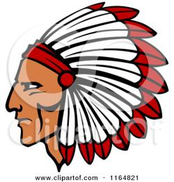Headdress clipart indian feather