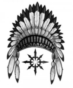 Headdress clipart indian head