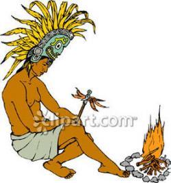 Indian clipart maya