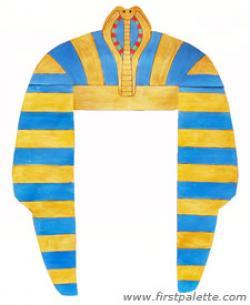 Headdress clipart pharaoh