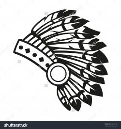 Headdress clipart simple
