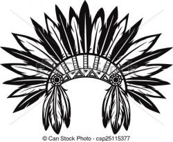 Headdress clipart tribal