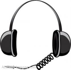 Headphone clipart animated