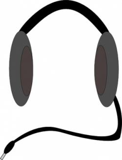 Headphone clipart artistic
