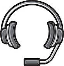 Headphone clipart call center headset