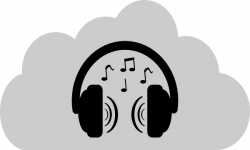 Headphone clipart cartoon music