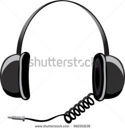 Headphone clipart cord clip art