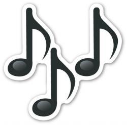 Music clipart emoji