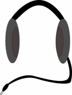 Headphone clipart input and output