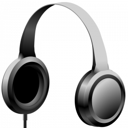 Headphones clipart headset