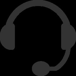 Headphones clipart phone headset