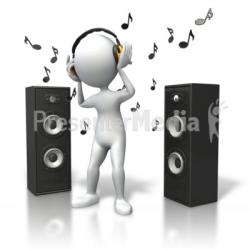 Speakers clipart music speaker
