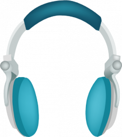 Headphone clipart large