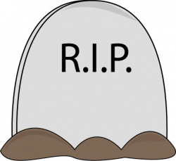 Deadth clipart rest in peace