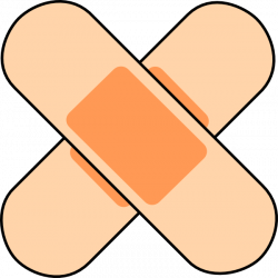 Wound clipart bandaid