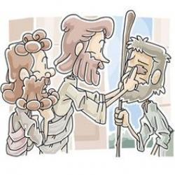 Healing clipart jesus miracle