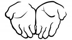 Healing clipart open hand
