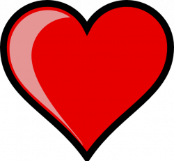 Heart-shaped clipart huge