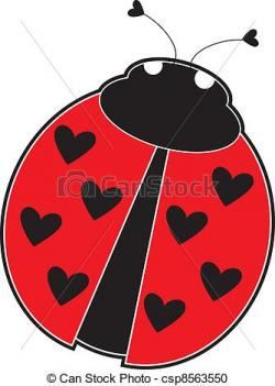 Beatle clipart red bug
