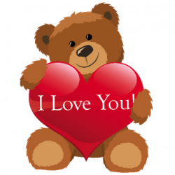 Teddy clipart valentines day teddy bear