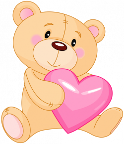 Teddy clipart cute bear