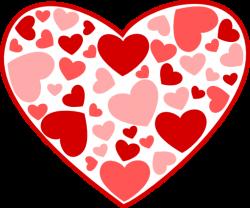 Heart clipart february