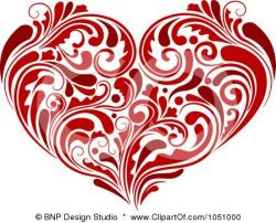 Norway clipart red heart
