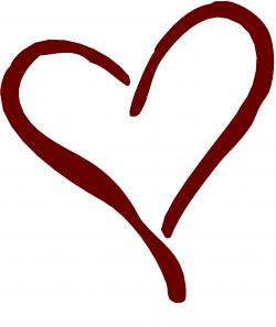 Funky clipart transparent heart
