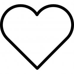 Heart-shaped clipart different shape