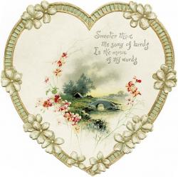 Inspiring clipart vintage heart