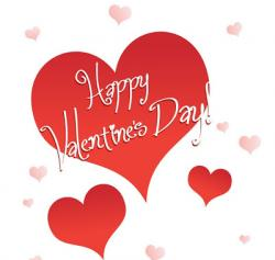 Heart-shaped clipart happy valentine heart