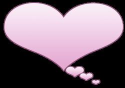Heart-shaped clipart heart bubbles